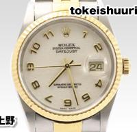 時計修理 ロレックス 16233 P番
