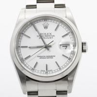 ロレックス時計オーバーホール修理16200ホワイト